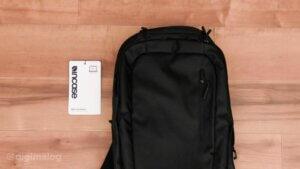 【レビュー】インケース(Incase)のナイロンバックパック(Nylon BackPack)は軽量・大容量でMacBookに最適