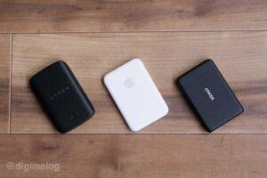 Apple MagSafeバッテリーパックをAnker・HyperJuiceと比較