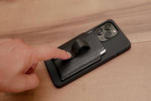 MagSafe対応iPhone用のMagbakケースとレザーウォレットスタンドのレビュー